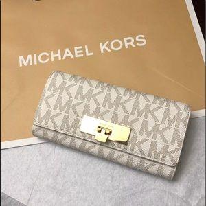 MICHAEL MICHAEL KORS MK SIGNATURE PVC CALLIE